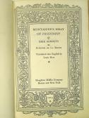 1915 - Montaigne [Houghton Mifflin] 071 Title